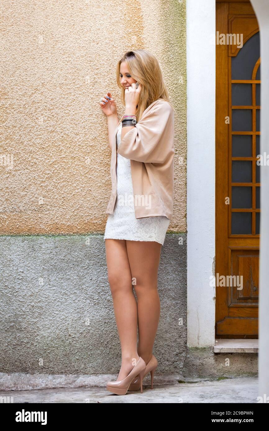 Adolescent teen aka sexy Stock Photo