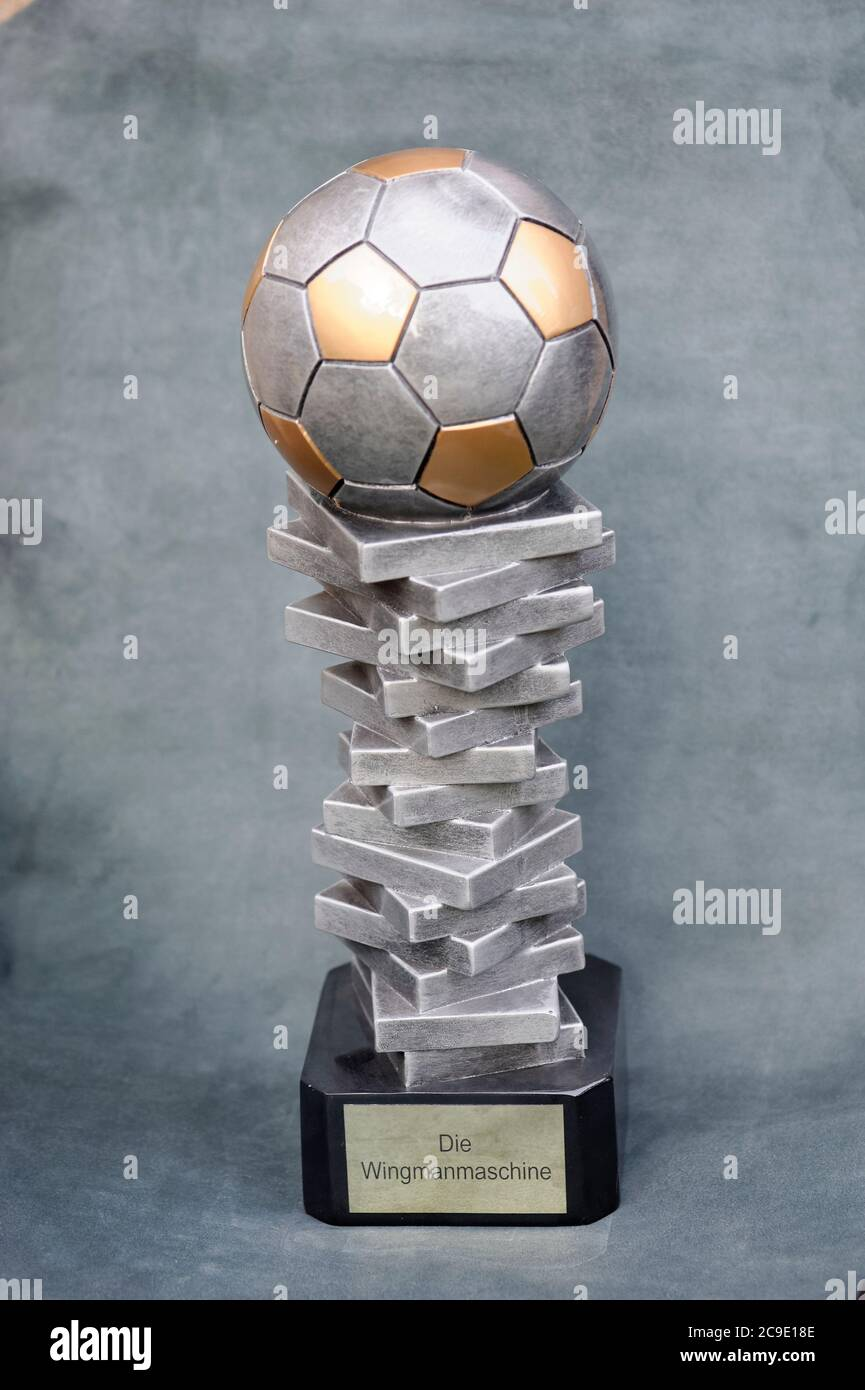 Fußball Pokal Stock Photo