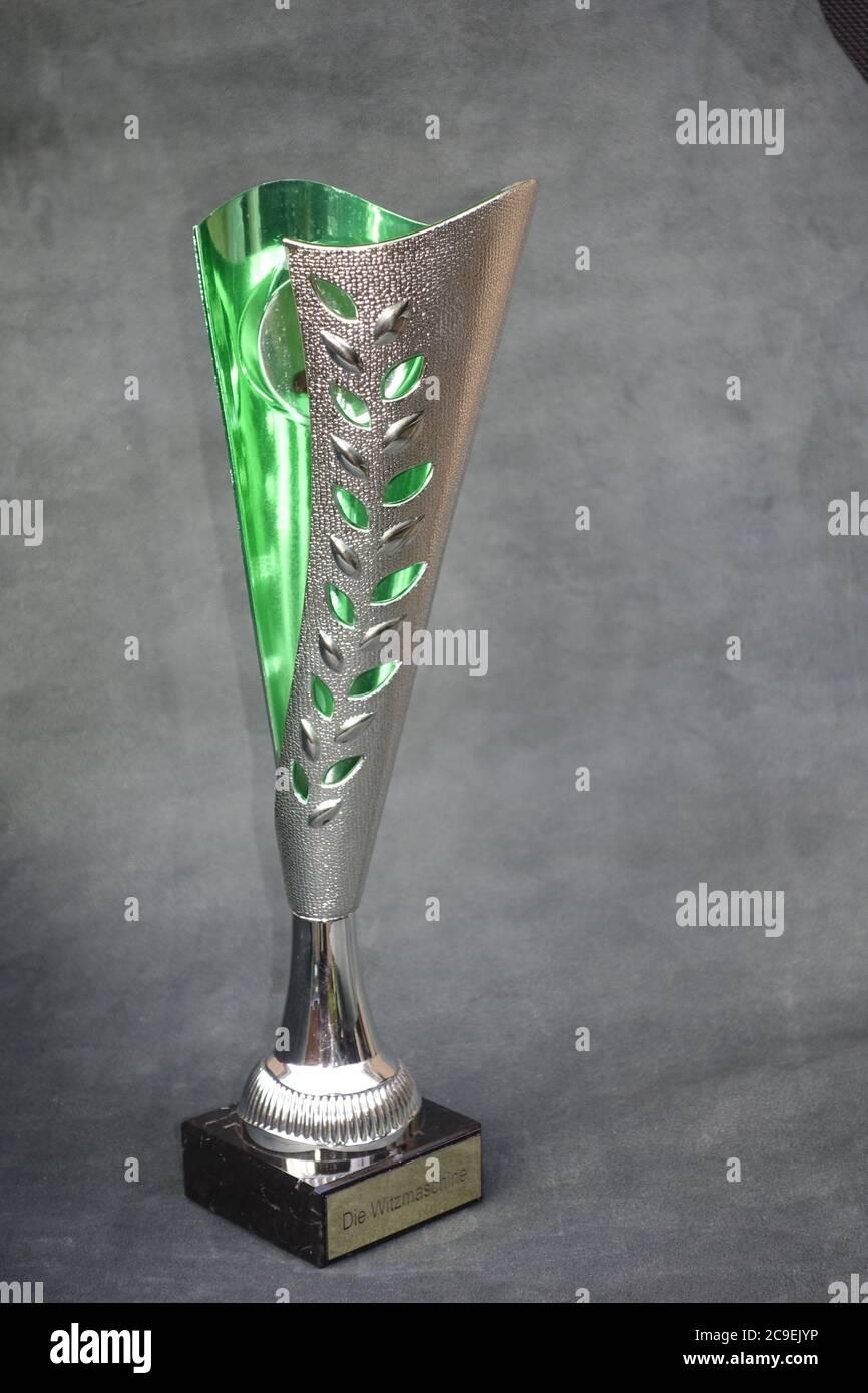 Fußball Pokal Stock Photo