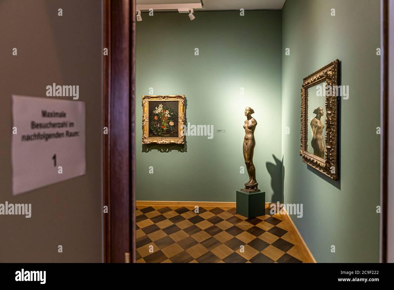 Reinhart Collection formed by Oskar Reinhart in Winterthur, Switzerland Stock Photo