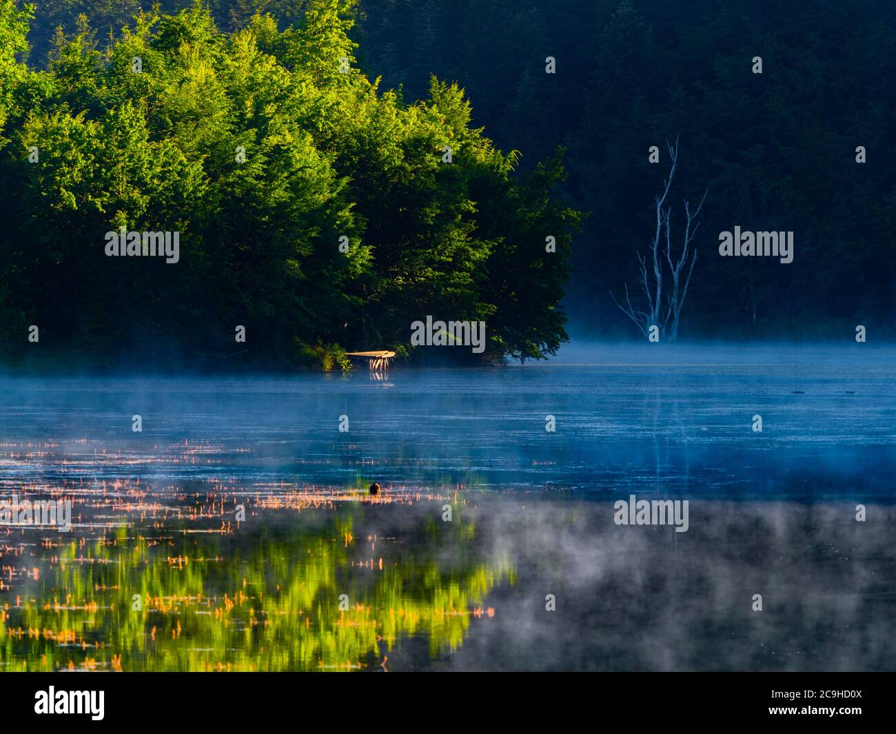 Lake Mrzla vodica in Croatia Europe Stock Photo