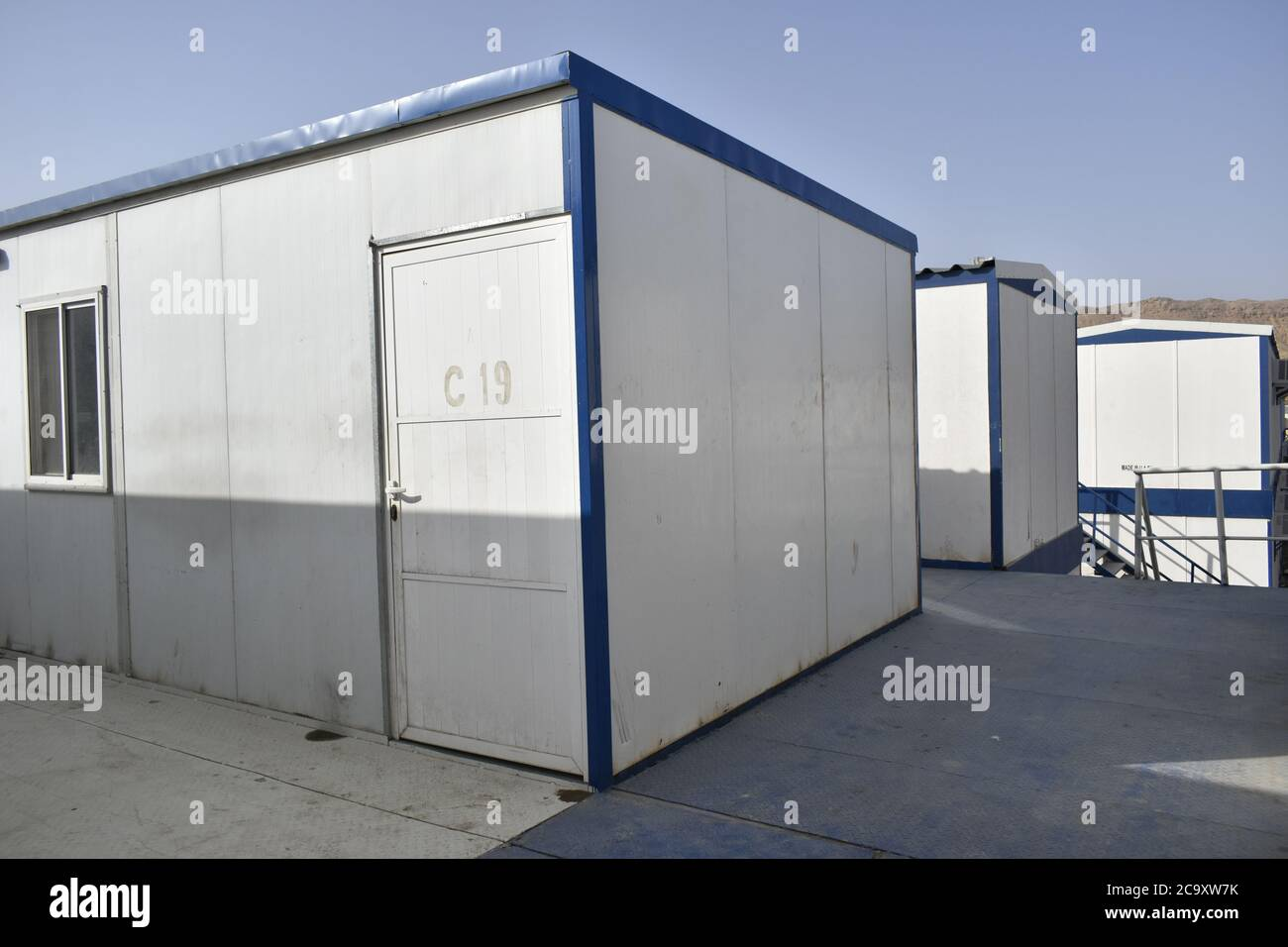 Porta Cabin High Resolution Stock Photography And Images Alamy