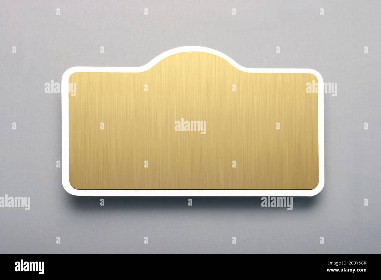 Metal Or Wooden Name Plate For Insertion Into Collar Or Shirt Pocket Metal Or Wooden Name Tag Stock Photo Alamy