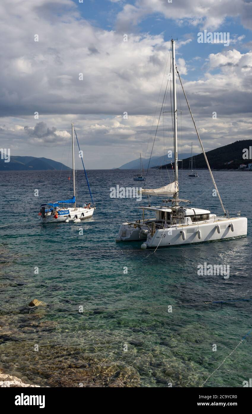 Fiskardo, Cephalonia, Greece Stock Photo