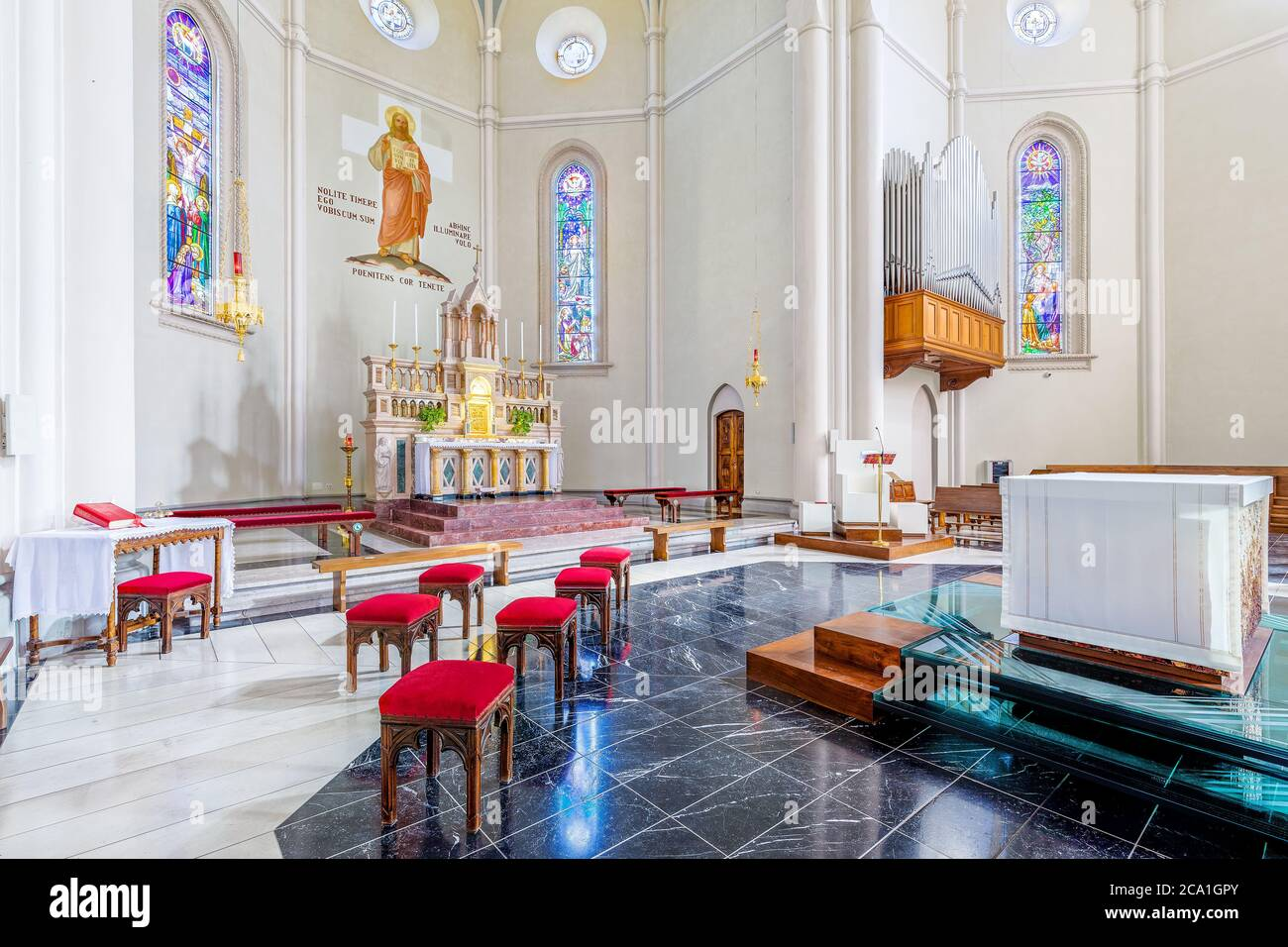 Modern Church Altar High Resolution Stock Photography And Images Alamy