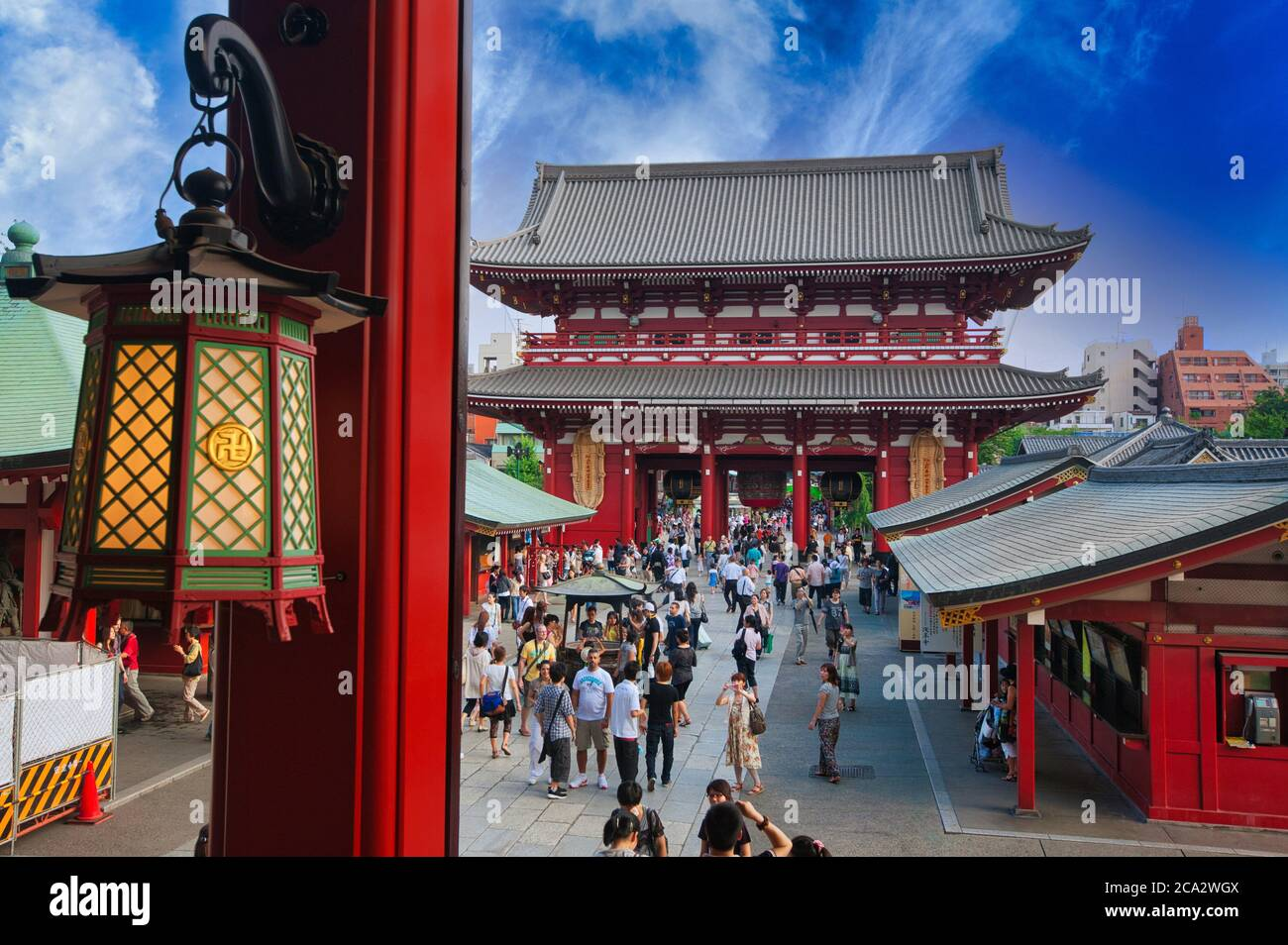 Sensoji Temple, Asakusa, Tokyo, Japan Stock Photo