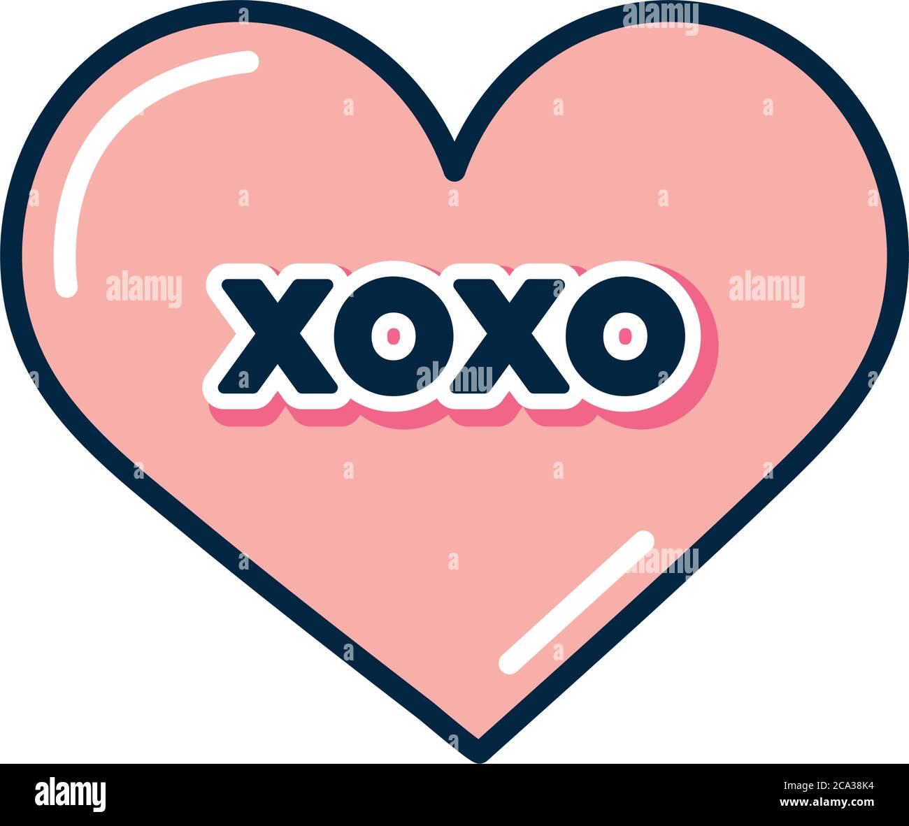 XOXO Hearts