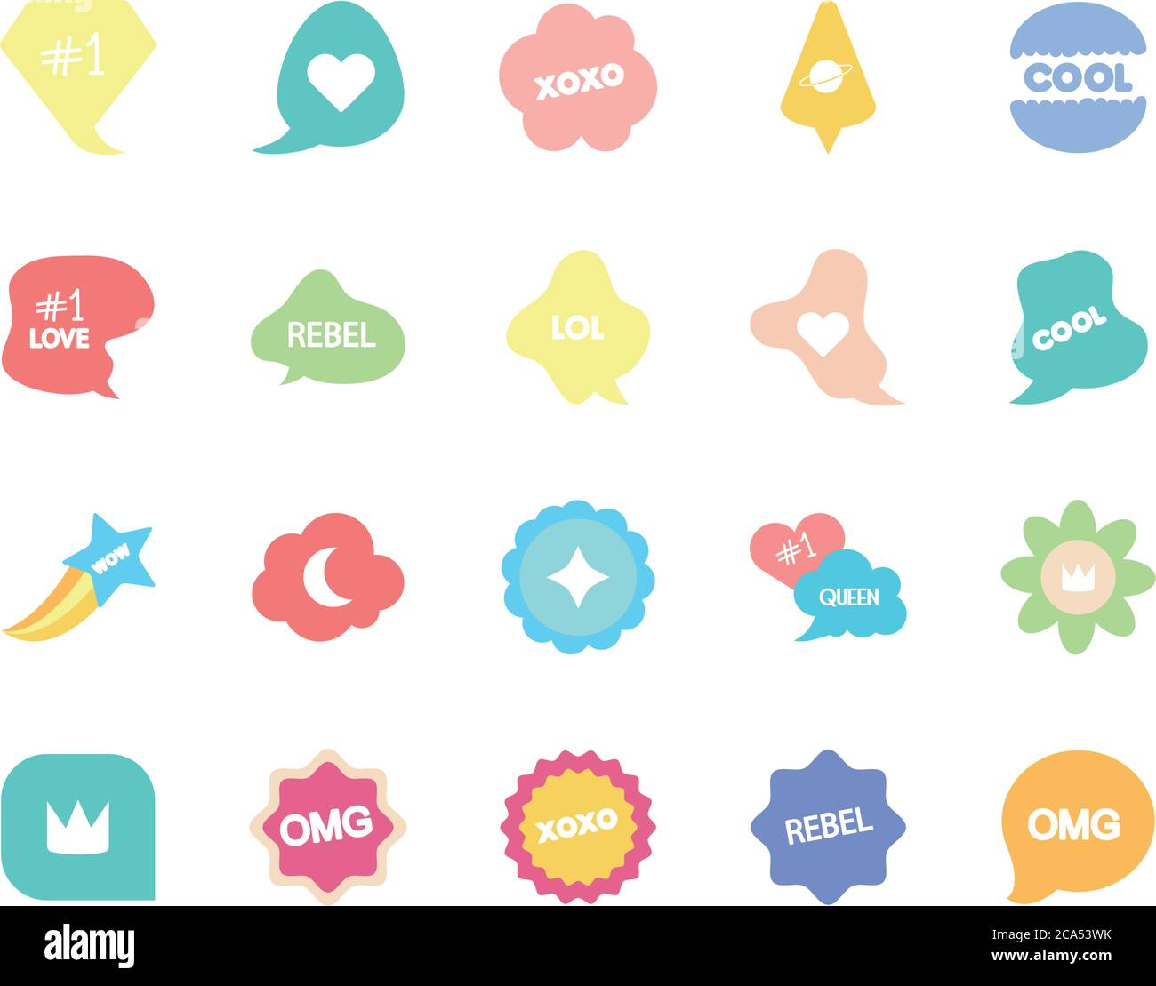 chat icon stock vector images page 29 alamy alamy