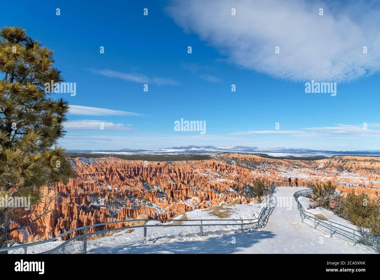 Bryce Point, Bryce Amphitheater, Bryce Canyon National Park, Utah, USA Stock Photo