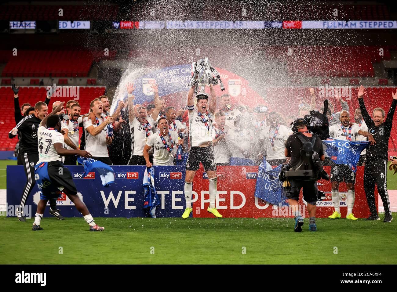Wembley Stadium, London, UK. 4th Aug, 2020. EFL Championship ...