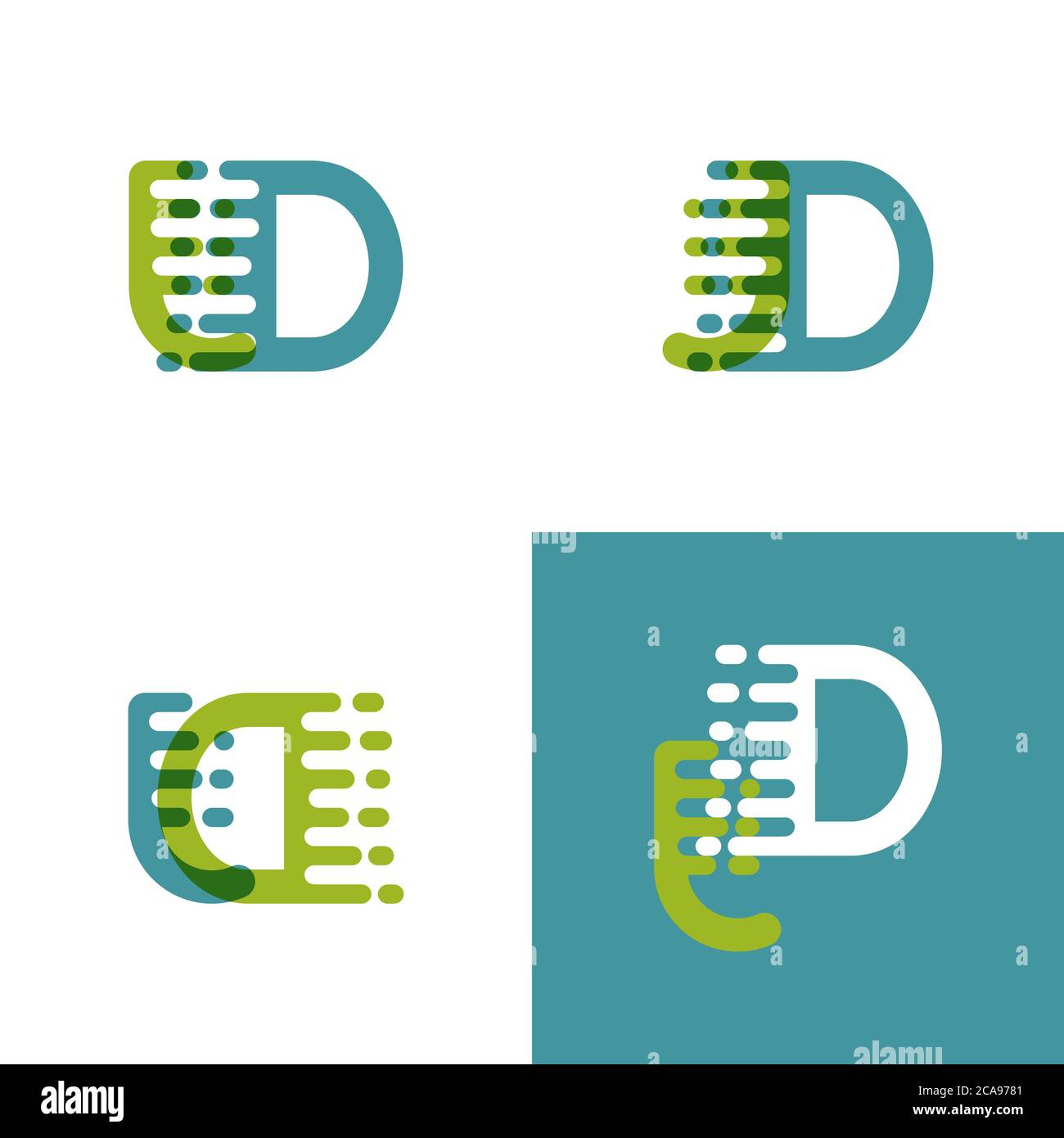 jd letters logo with accent speed in light green and light blue stock vector image art alamy alamy