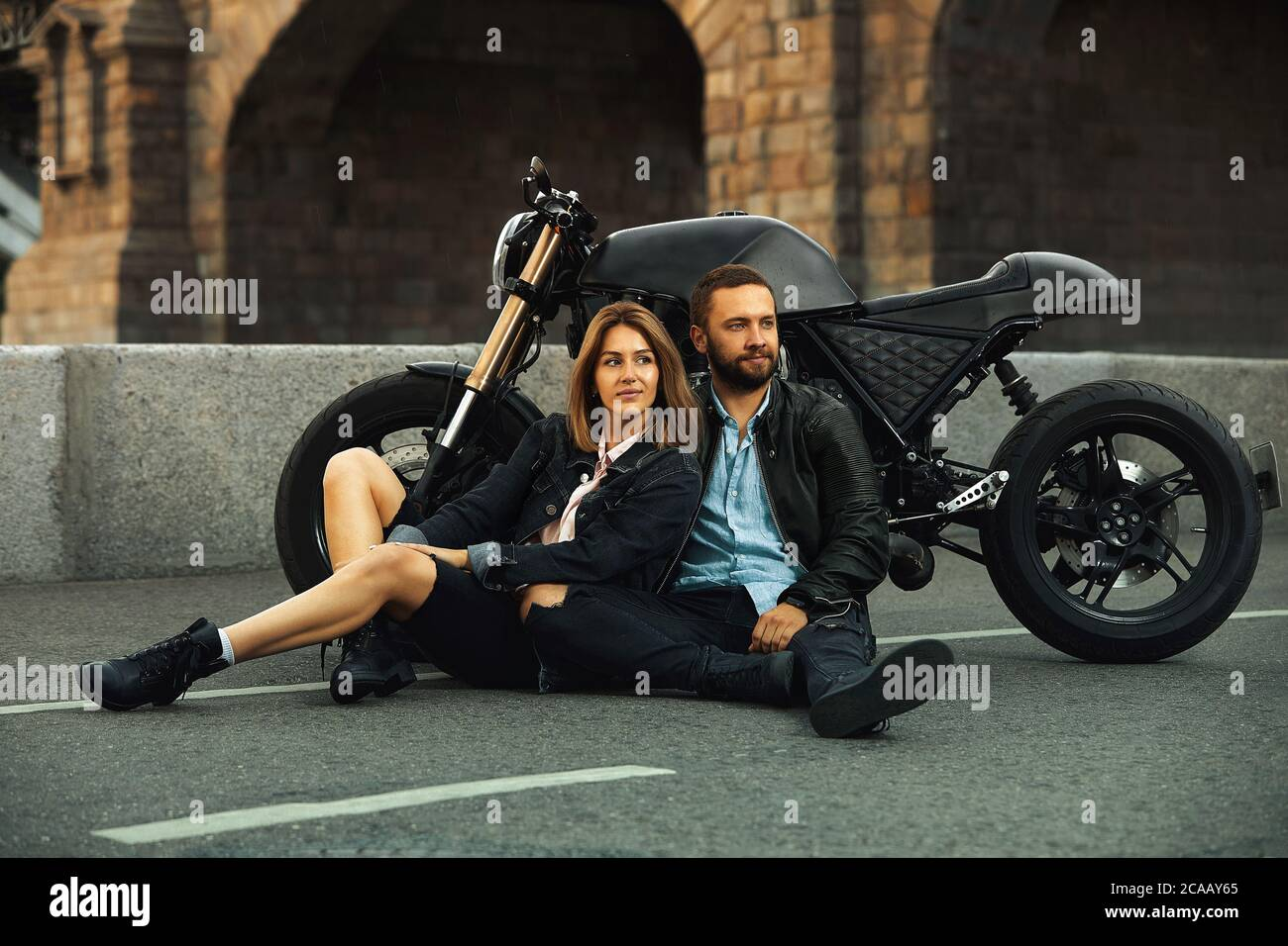 Biker Love High Resolution Stock Photography And Images Alamy