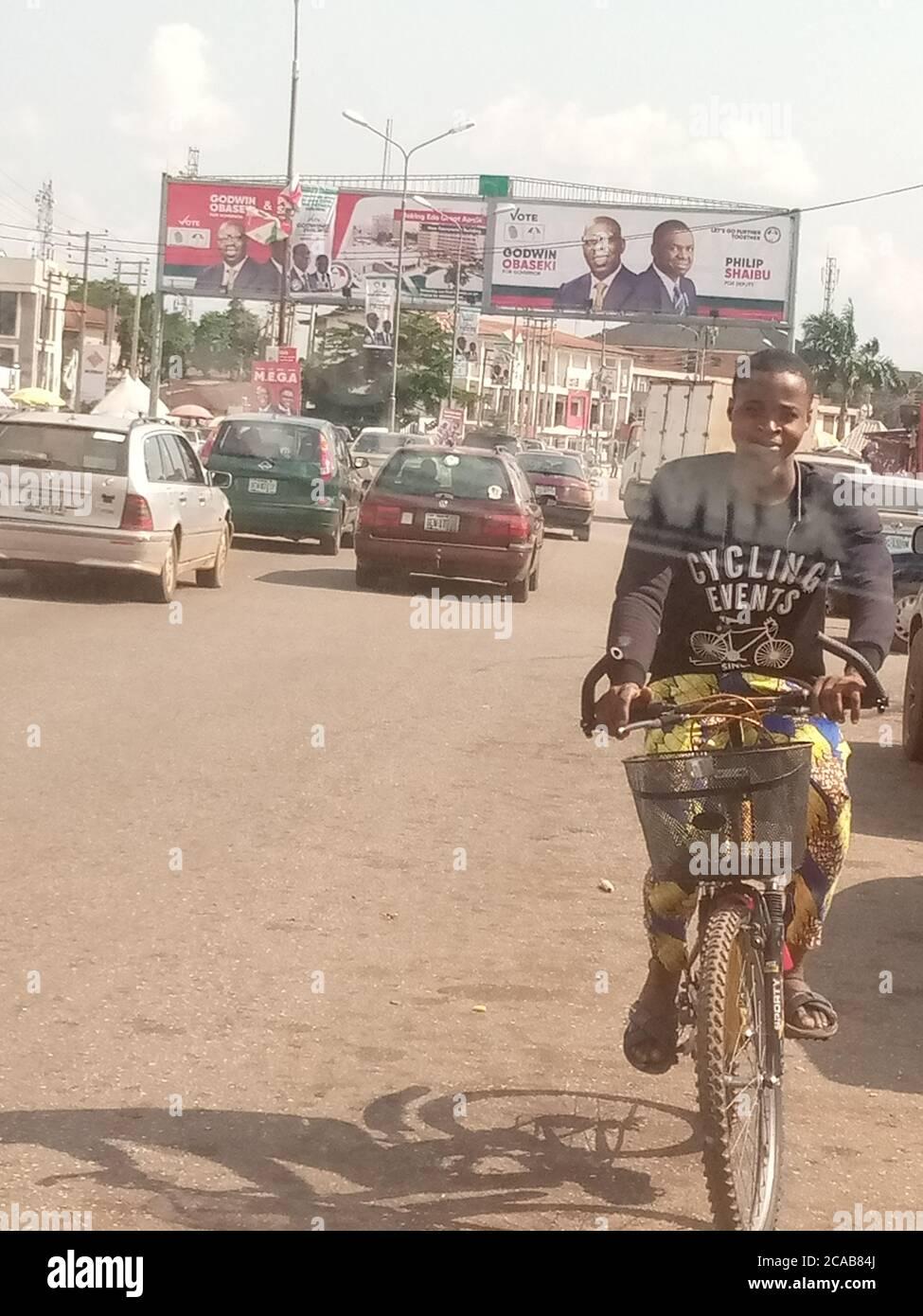Road benin state ring city nigeria edo Ring Road,