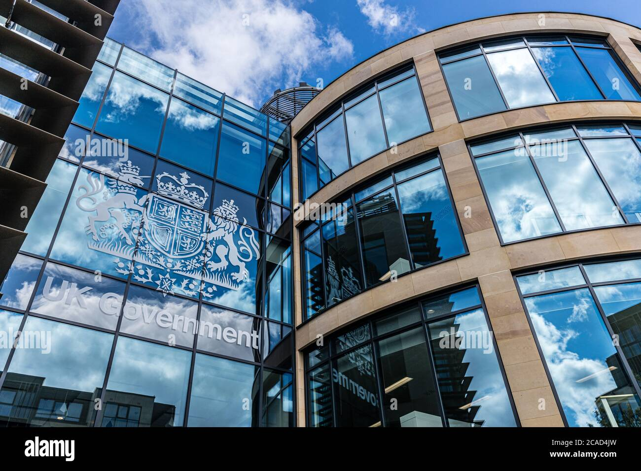 The UK Government in Scotland HQ Queen Elizabeth House Stock Photo - Alamy