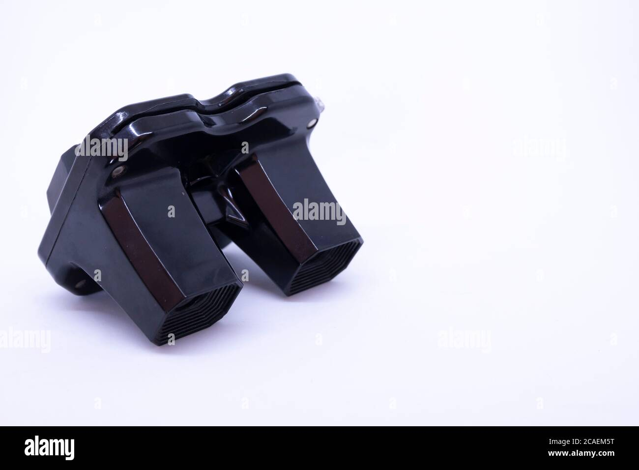 View Master, retro 3D photo viewer and on white background. Stock Photo