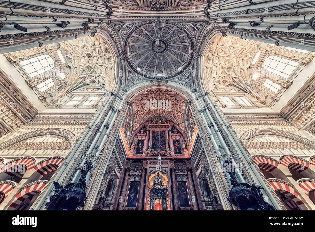 Mosque Cathedral of Cordoba, Andalusia, Spain Stock Photo