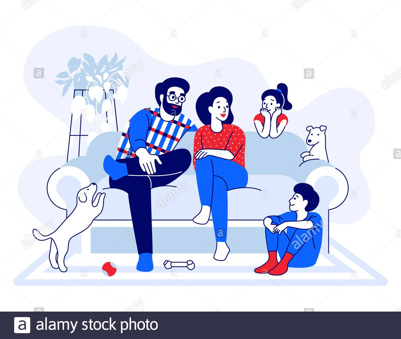 Mother and child. Mom sits in her lap, talking with his son and holds his  hand , #AD, #Mom, #sits, #Mo… in 2020   Kids and parenting, Parenting  teens, Children illustration