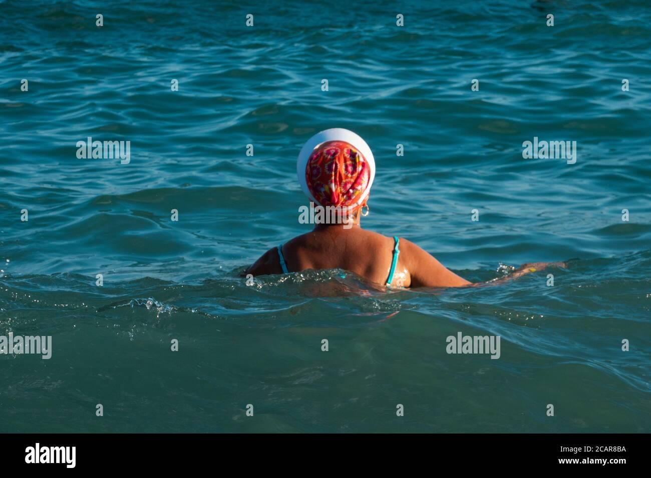 People On A Resort Of Krasnodar Krai Shirokaya Balka Beach Stock Photo Alamy