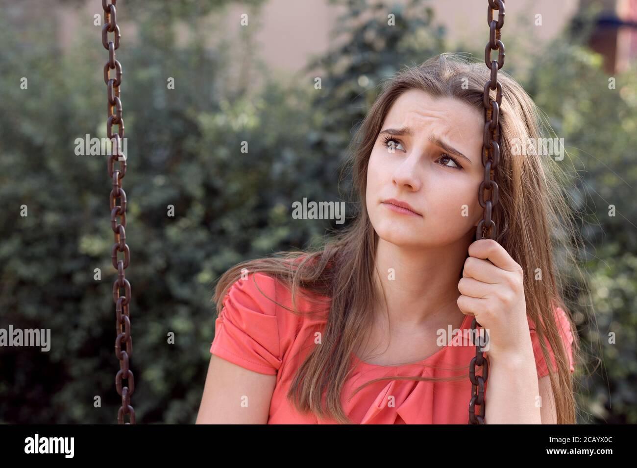 Beautiful russian teen