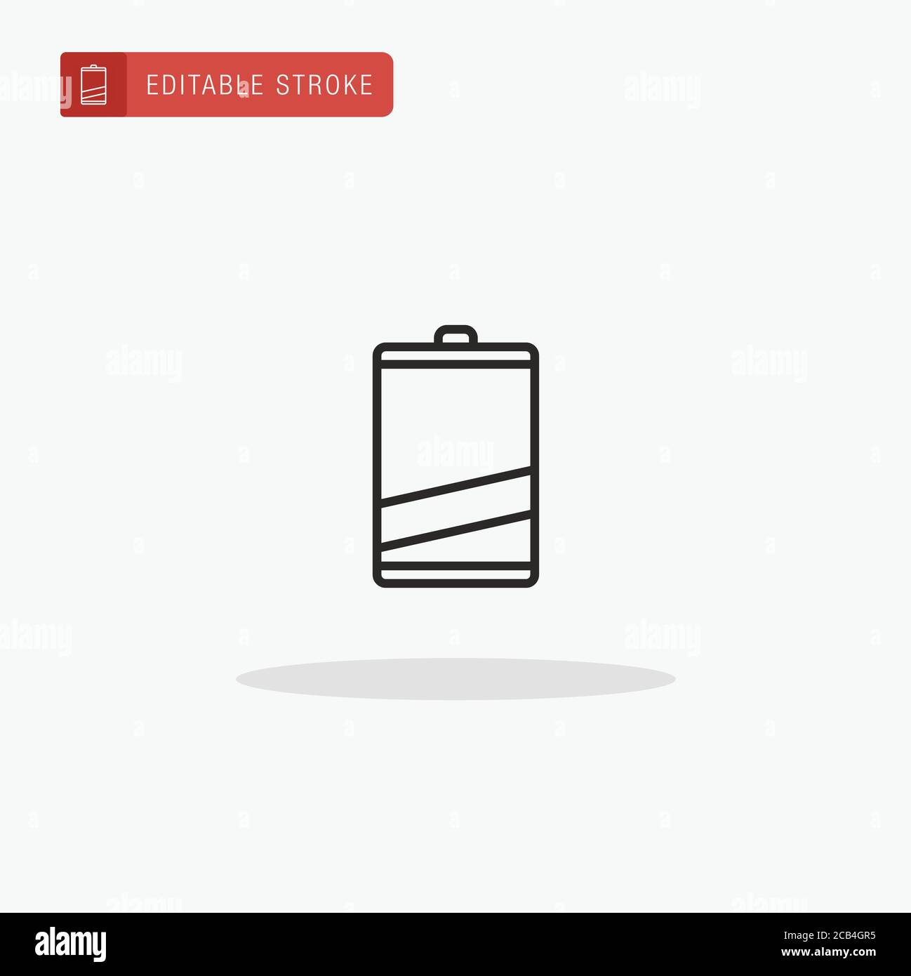 low battery level icon vector low battery level icon for presentation stock vector image art alamy alamy