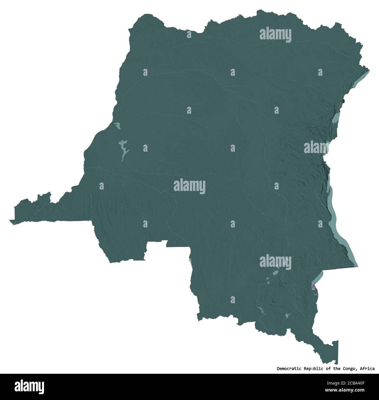 Picture of: Democratic Republic Congo Africa Map Cut Out Stock Images Pictures Alamy