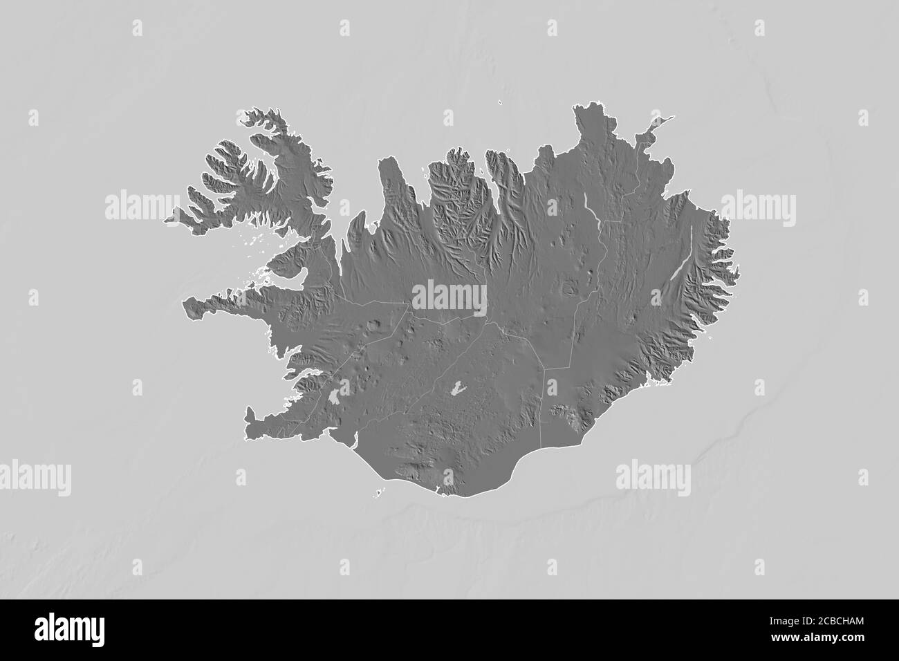 Iceland Outline Map High Resolution Stock Photography And Images Alamy