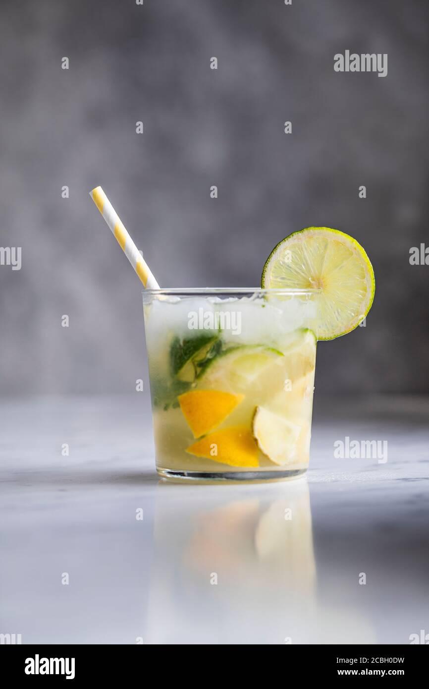 Caipirinha drink Sign in