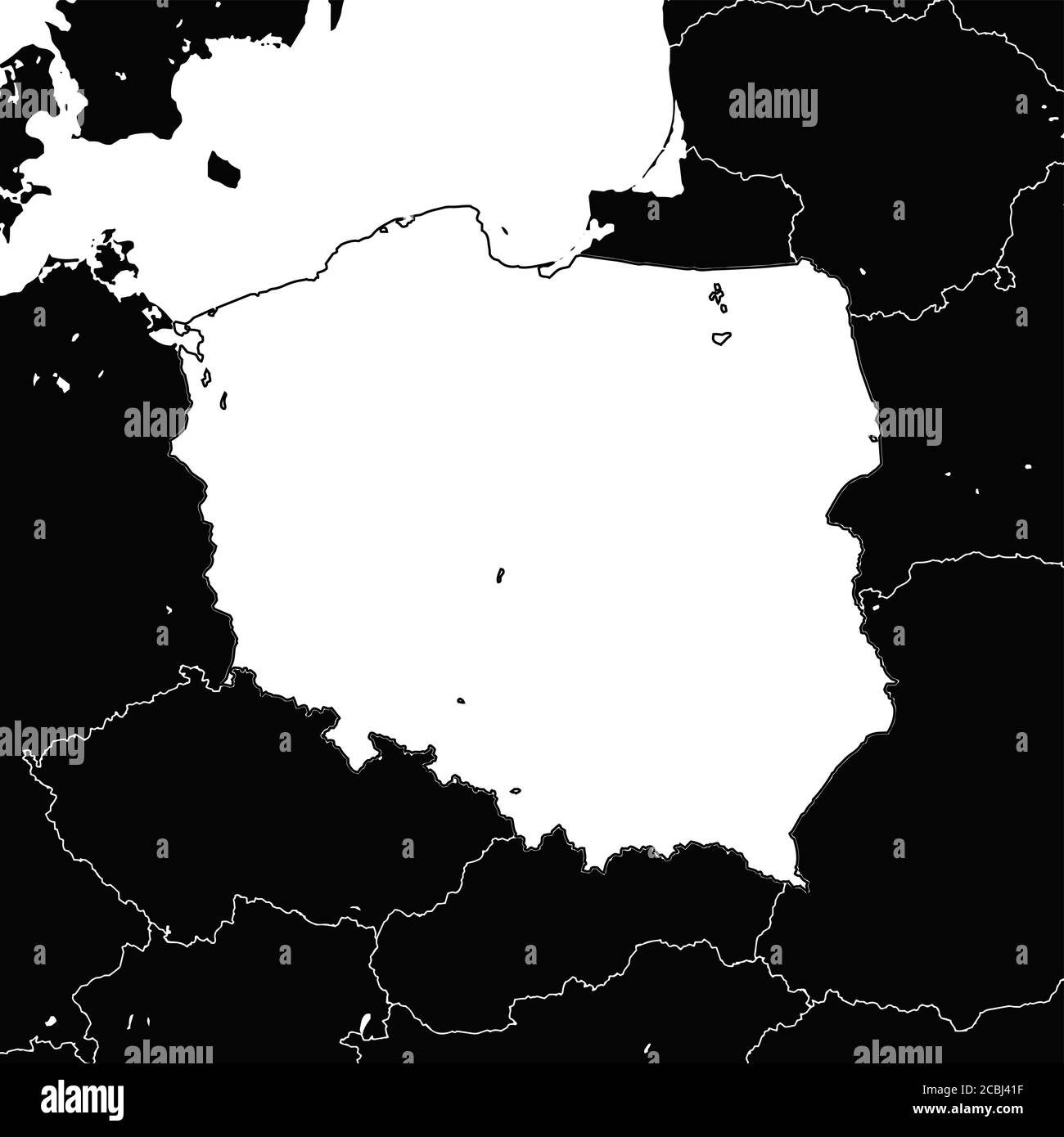 Picture of: Page 3 Poland Map High Resolution Stock Photography And Images Alamy