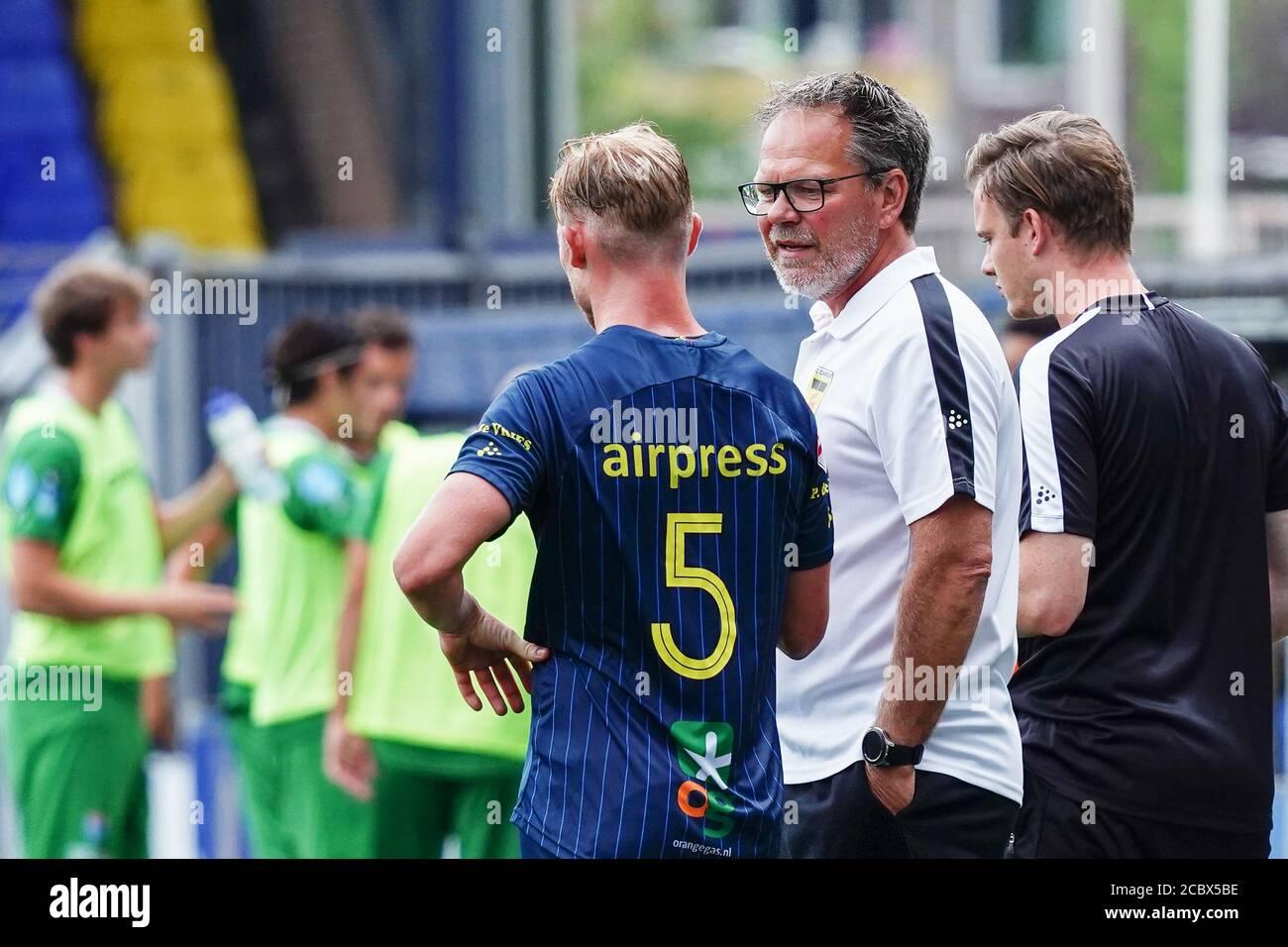 Leeuwarden Netherlands August 1 Henk De Jong Of Sc Cambuur Seen During The Pre Season Match Sc Cambuur V Pec Zwolle On August 1 2020 In Leeuward Stock Photo Alamy