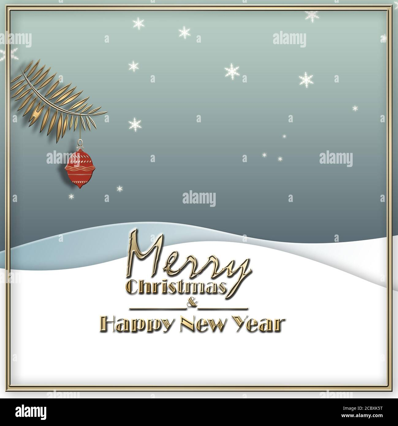 Hanging Banner Images Merry Christmas & Happy New Year 2021 Pastel Blue Winter Landscape Red Hanging Ball Text Merry Christmas And Happy New Year Minimalist Background For 2021 New Year Christmas Flyer Poster Sign Banner Web Header 3d Illustration Stock Photo Alamy