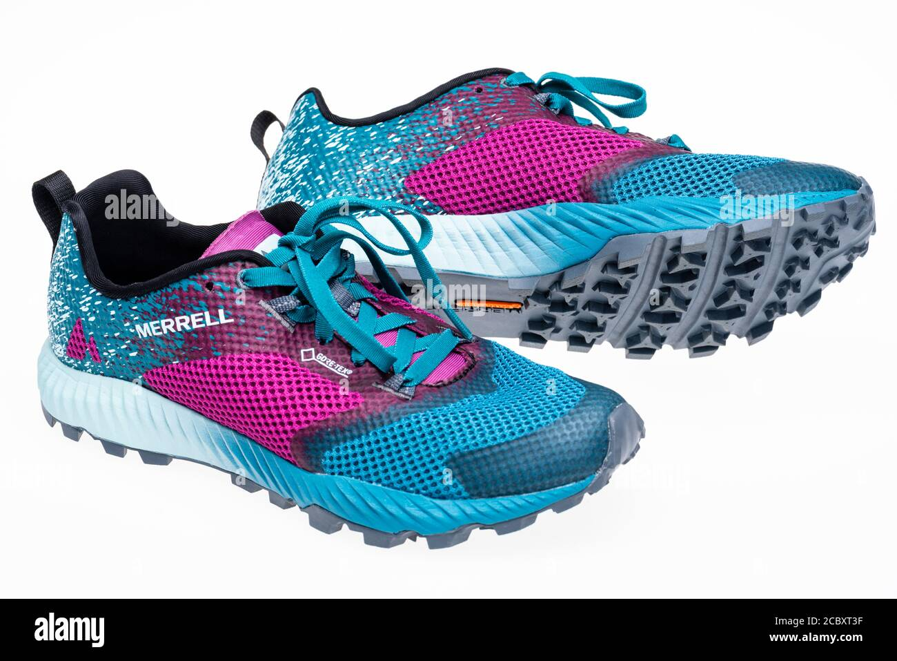Colourful Merrell ladies' trainers with