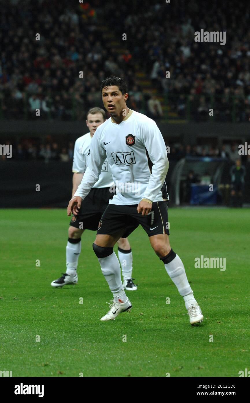 Cristiano Ronaldo Manchester United High Resolution Stock Photography And Images Alamy