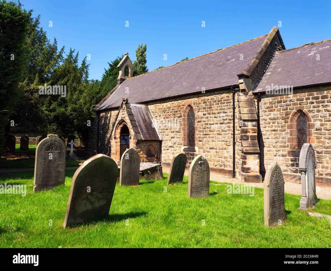 Church of Saint Joseph and Saint James at Follifoot Harrogate North Yorkshire England Stock Photo