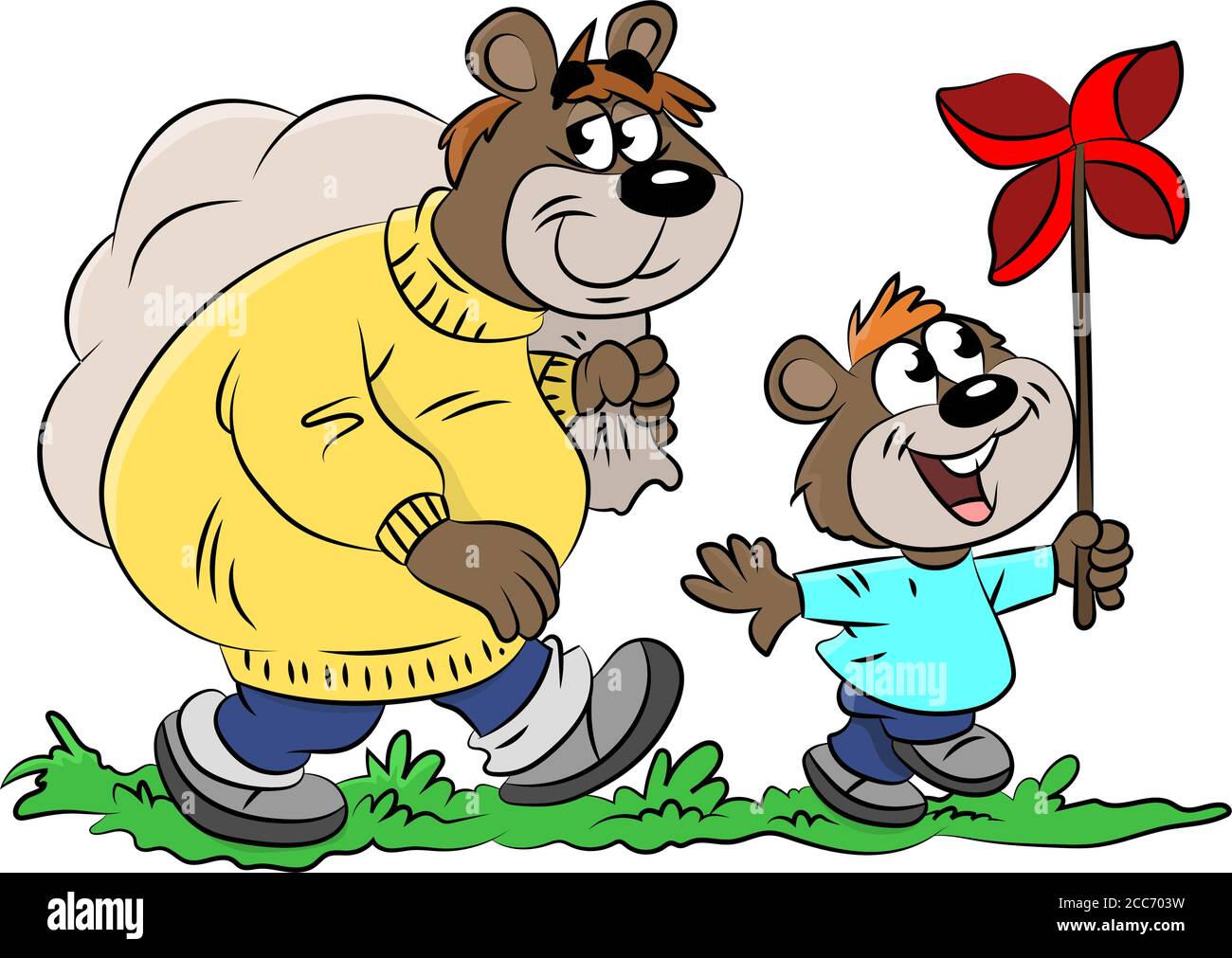Cartoon Bears High Resolution Stock Photography And Images Alamy
