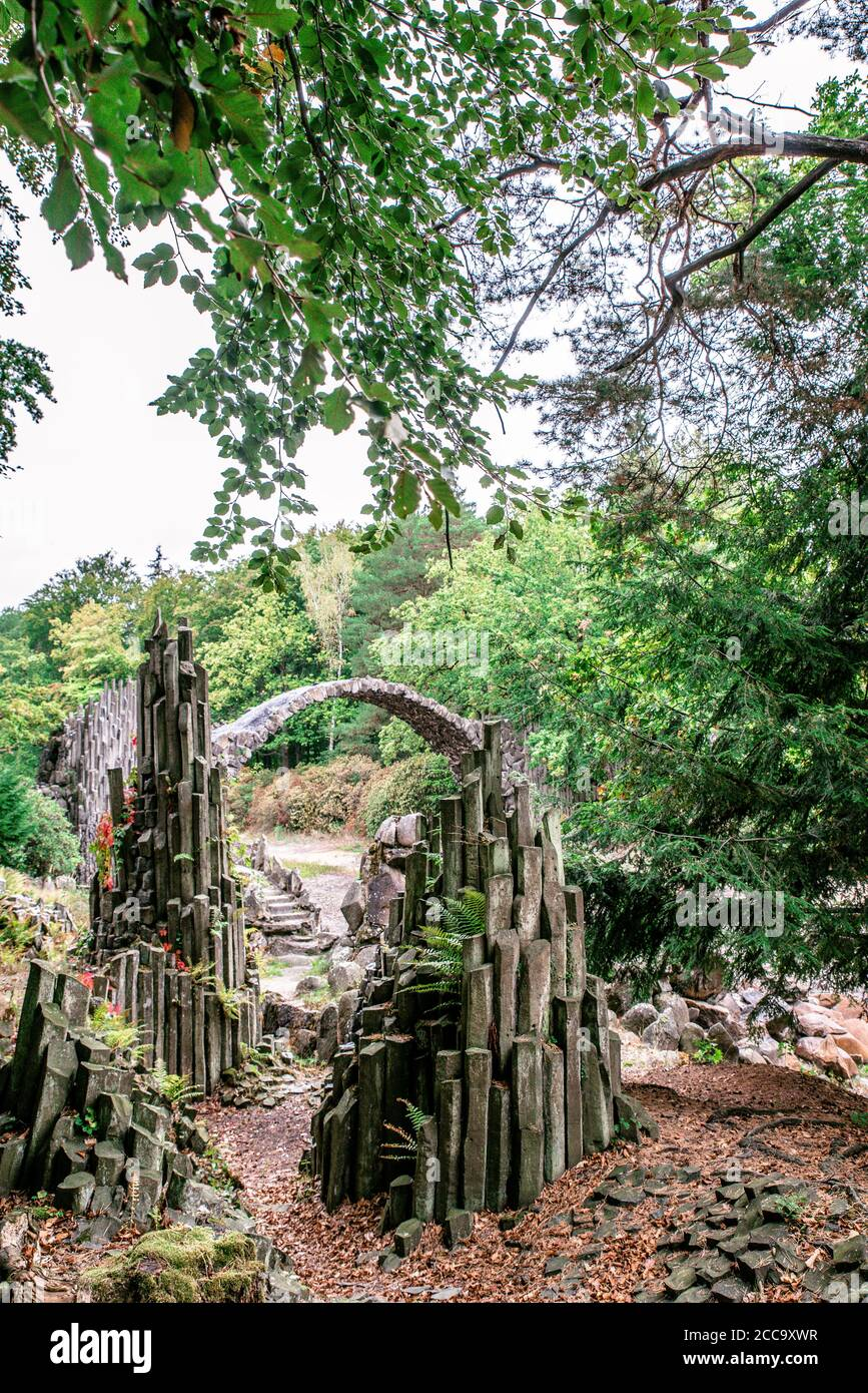 Devils Bridge Germany High Resolution Stock Photography And Images Alamy