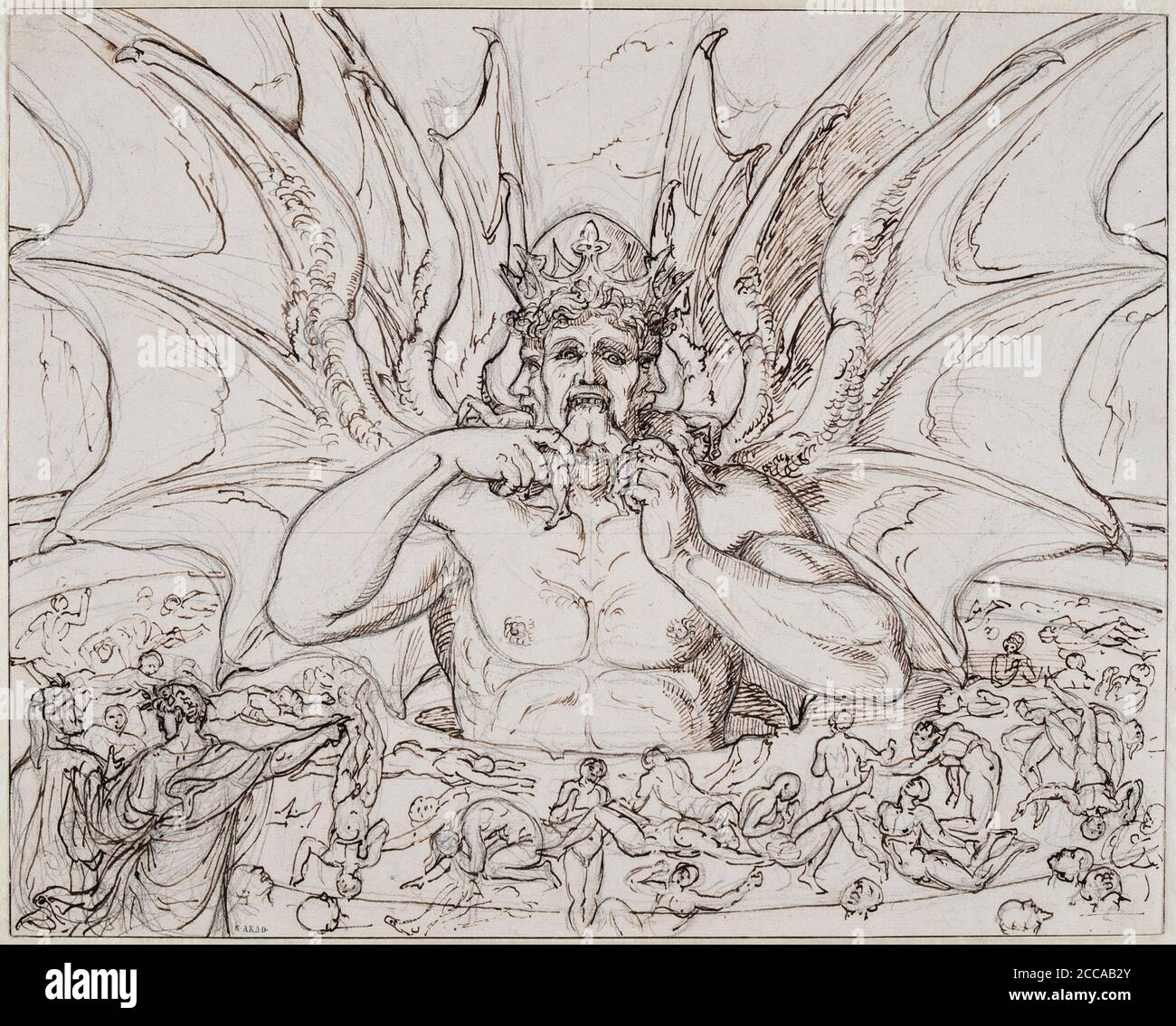 Dante Divine Comedy Satan High Resolution Stock Photography And Images Alamy