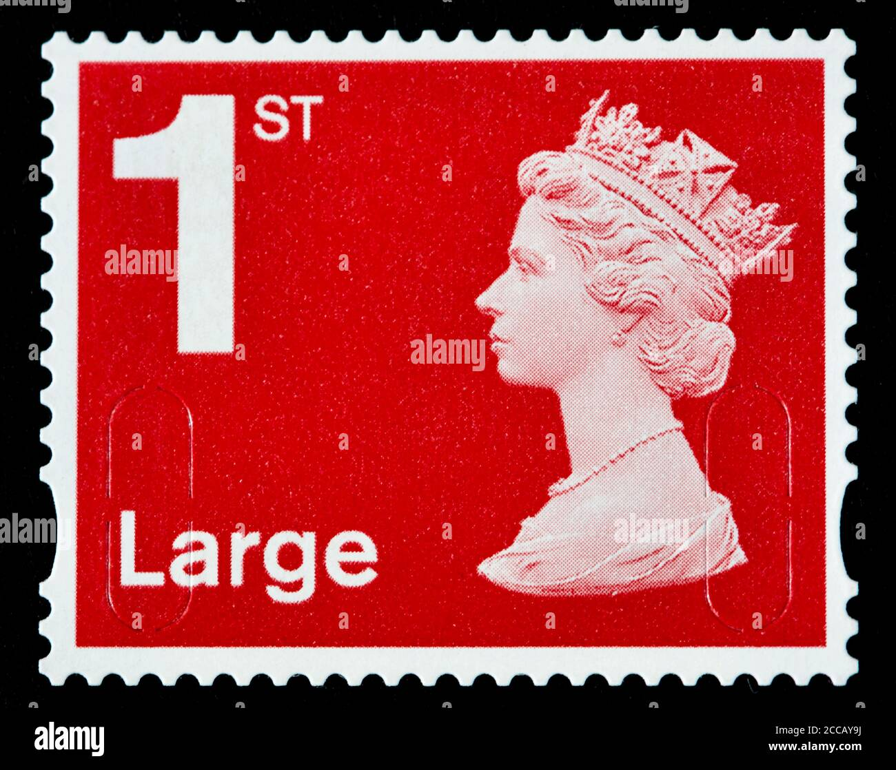1st Class Stamp High Resolution Stock
