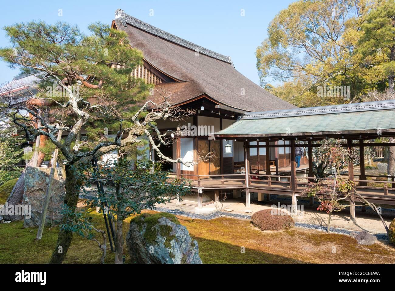 Kyoto, Japan - Daikaku-ji Temple in Kyoto, Japan. The site was originally a residence of Emperor Saga (786-842). Stock Photo
