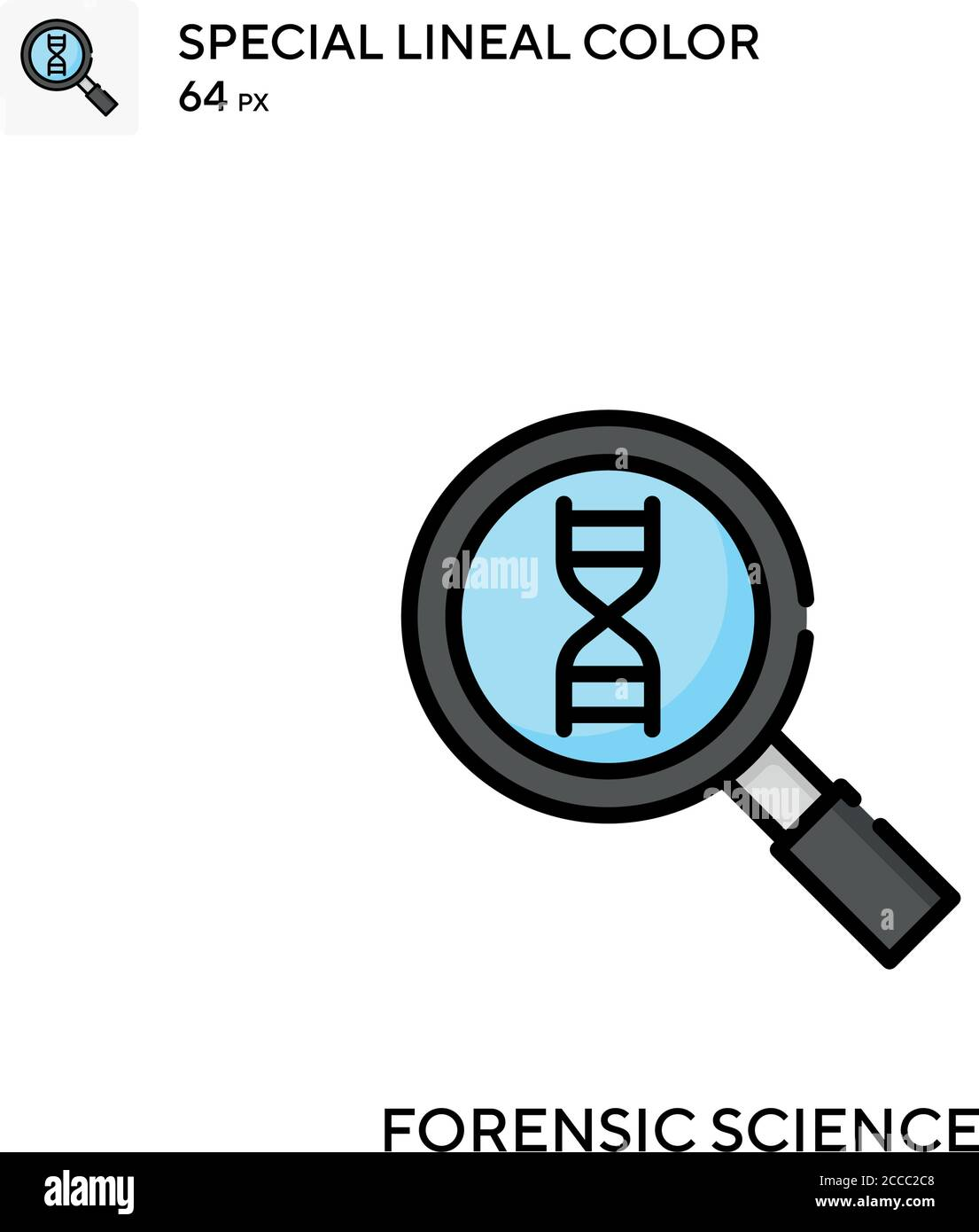 Forensic Science Stock Vector Images Alamy