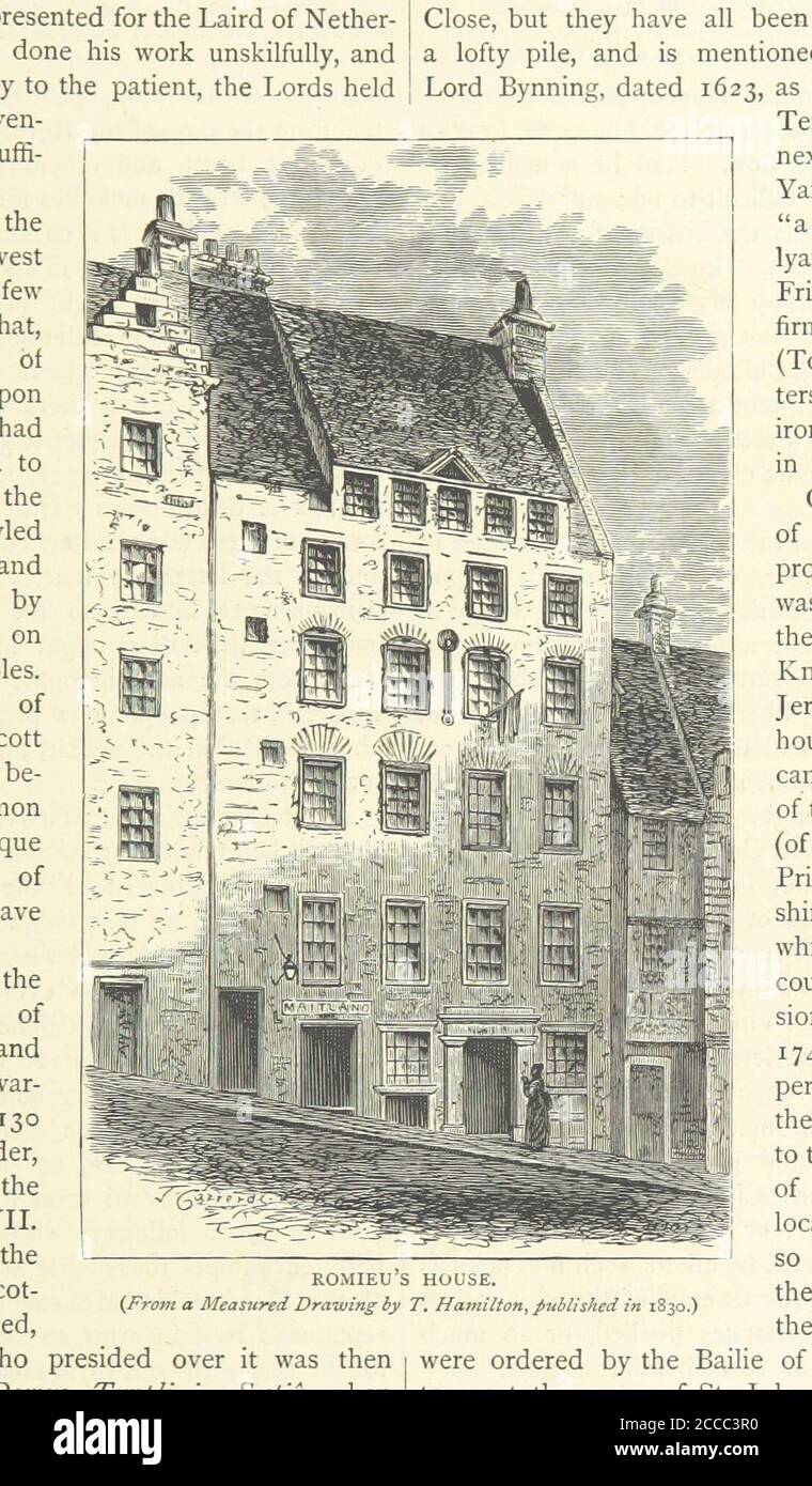 Cassell's Old and New Edinburgh ... Illustrated, et 1.jpg - 2CCC3TR Stock Photo
