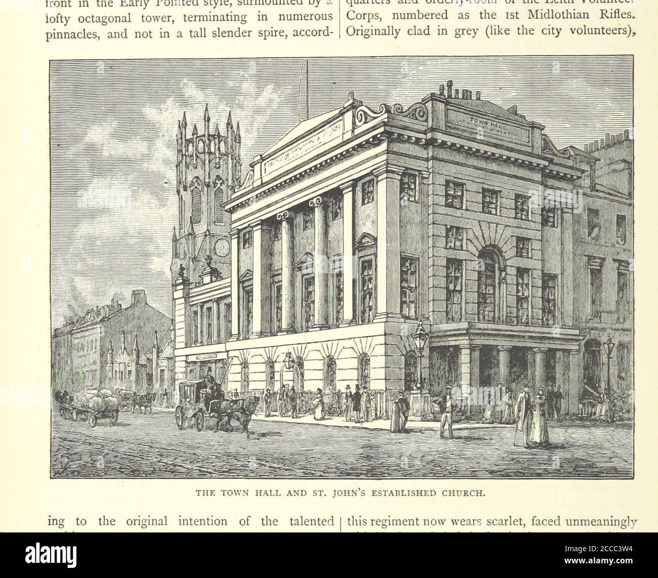 Cassell's Old and New Edinburgh ... Illustrated, etc.jpg - 2CCC3W4 Stock Photo