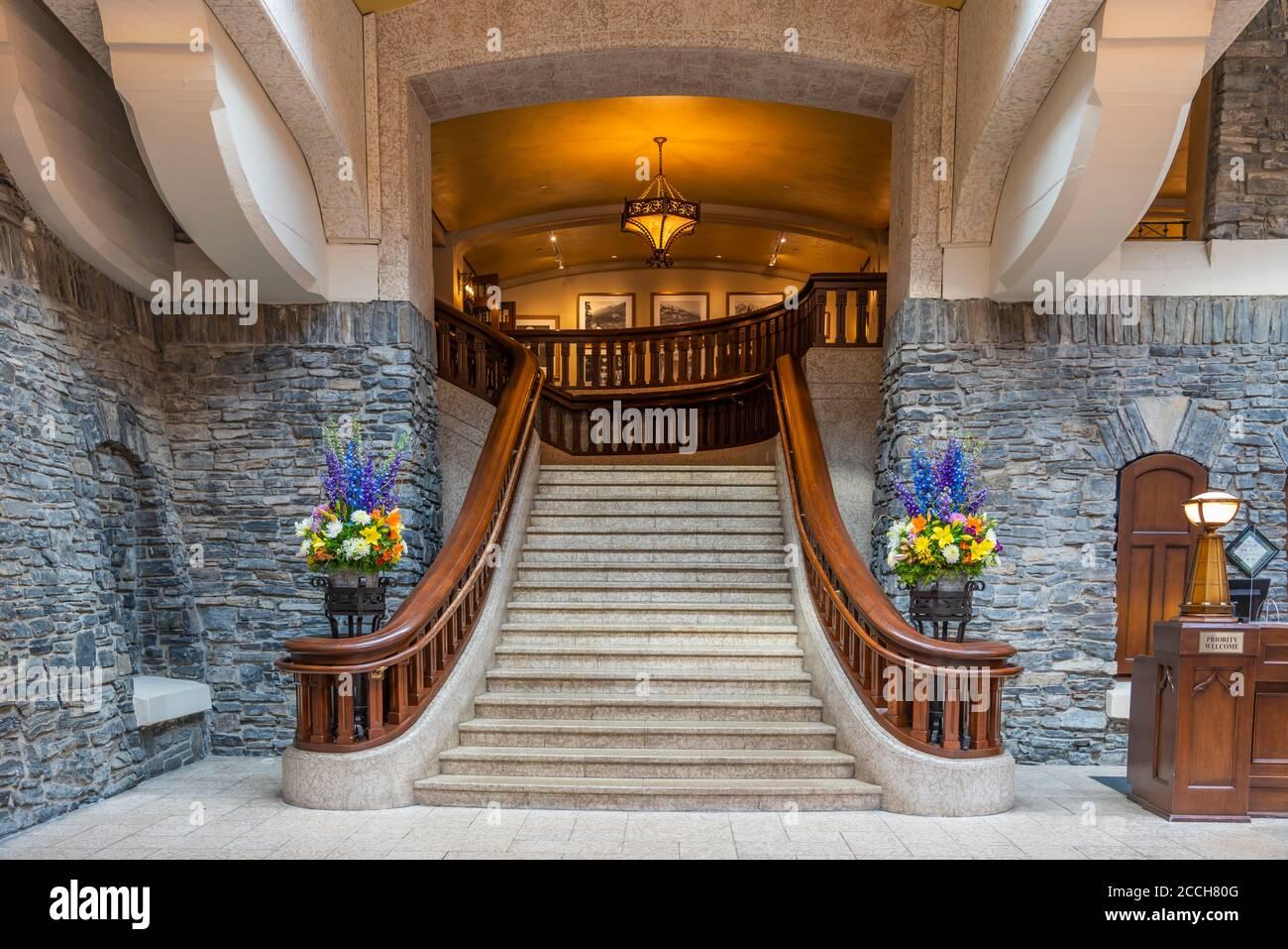 Banff Springs Hotel Inside