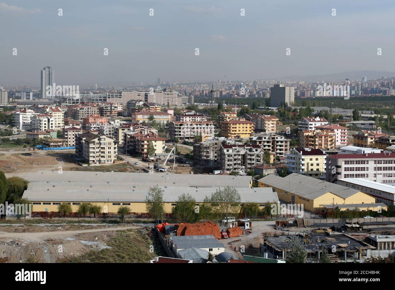 https www alamy com the capital of turkey the biggest construction made in ankara ankaya dikmen and ncek districts are seen in the back image369175903 html