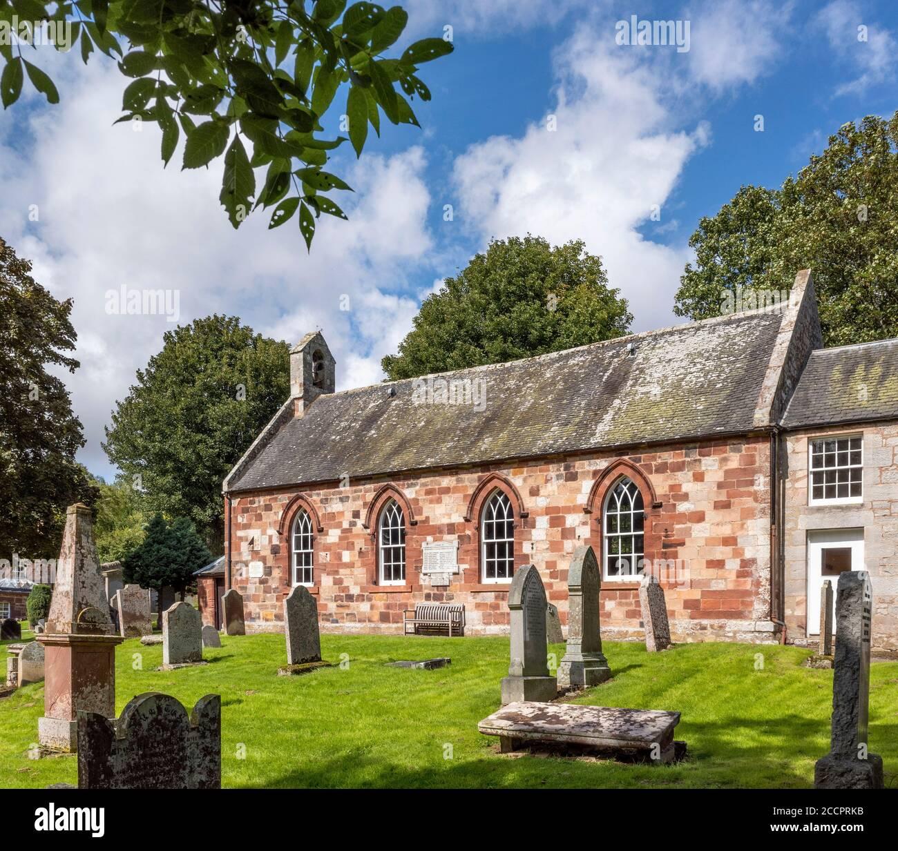 Garvald and Bara Parish Church, East Lothian, Scotland, UK Stock ...