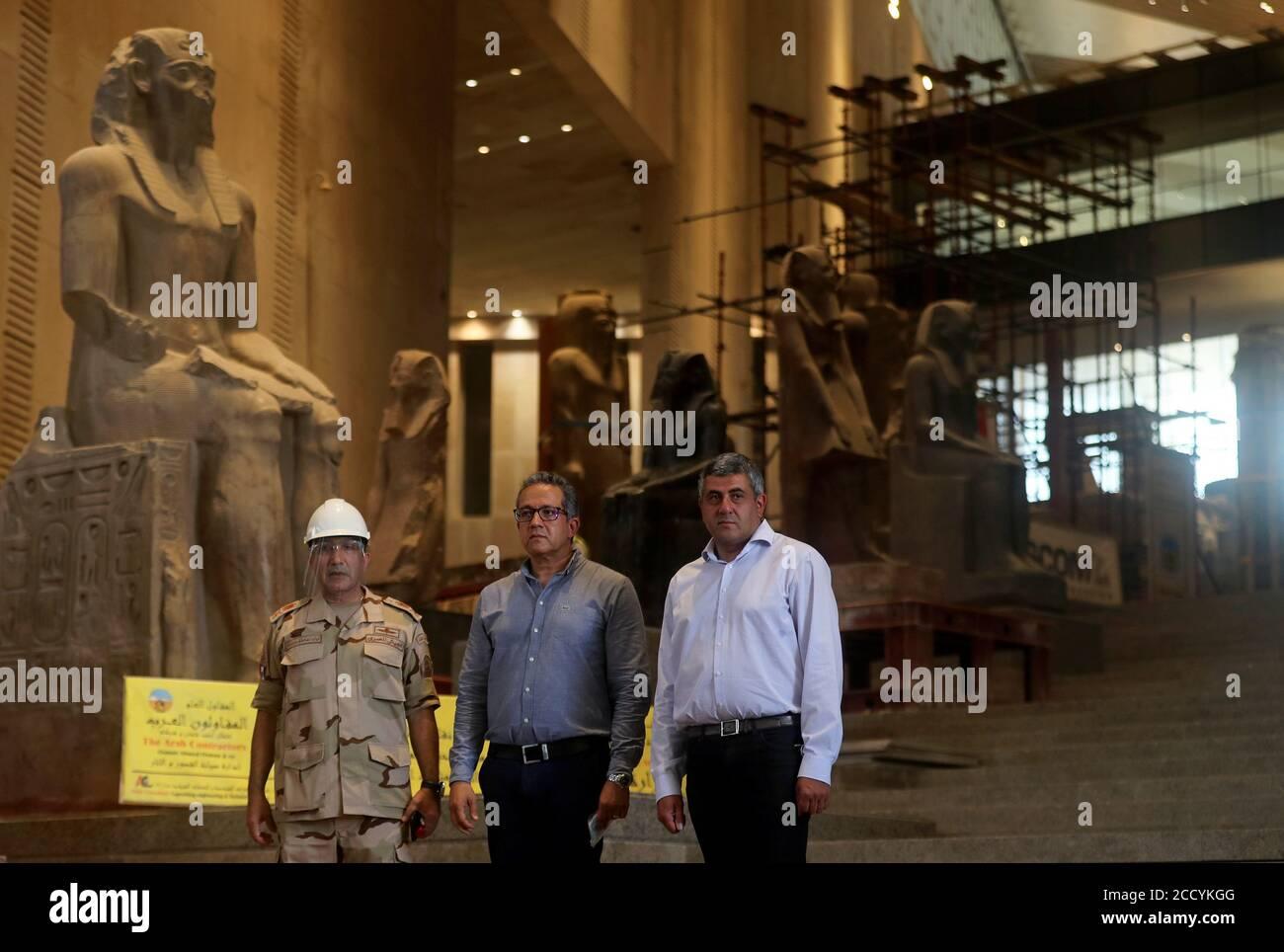 Zurab Pololikashvili Secretary General Of The World Tourism Organization Unwto And Egypt S Antiquities And Tourism Minister