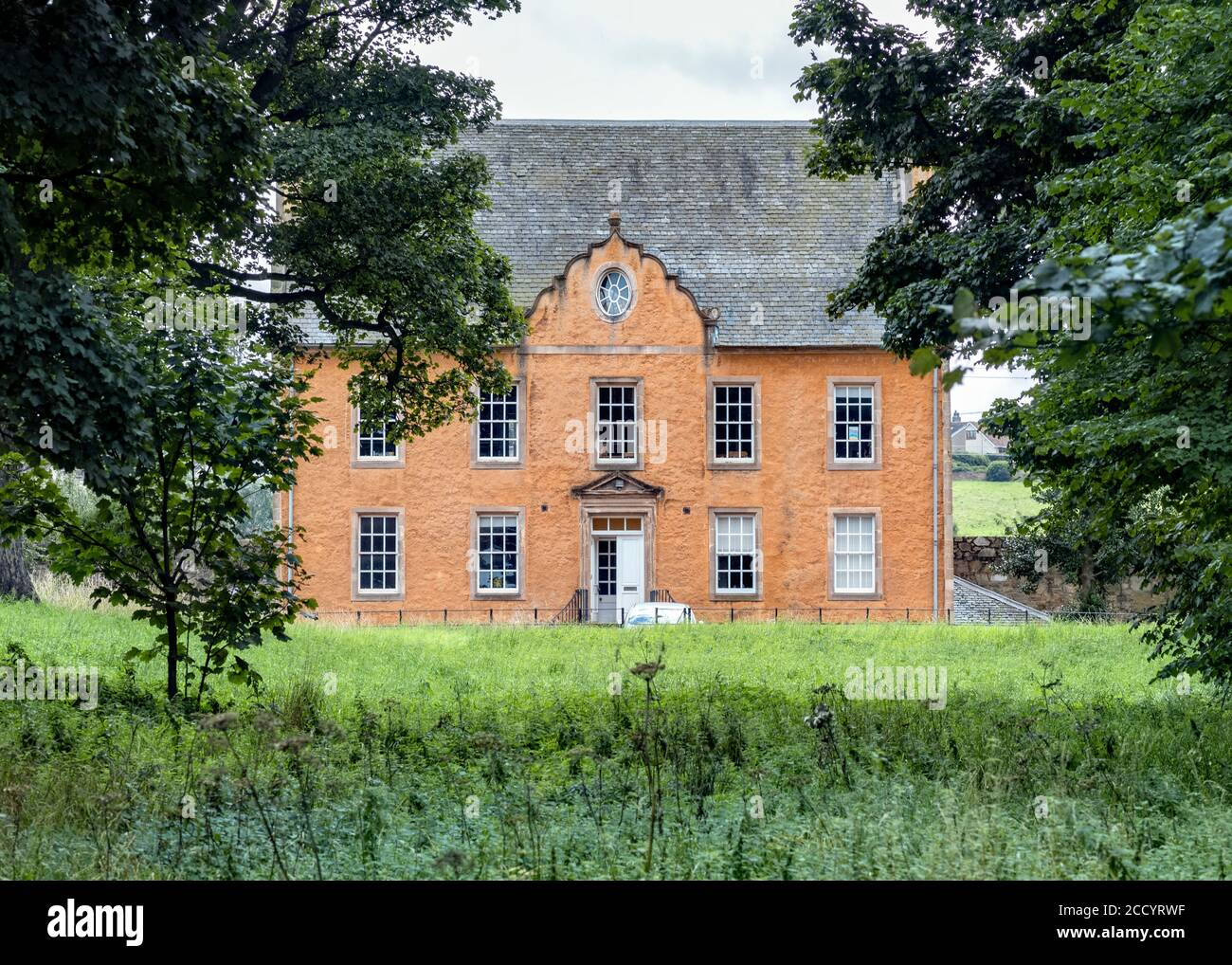 Bankton House, home of Colonel James Gardiner who died at the Battle of Prestonpans, East Lothian, Scotland, UK. Stock Photo