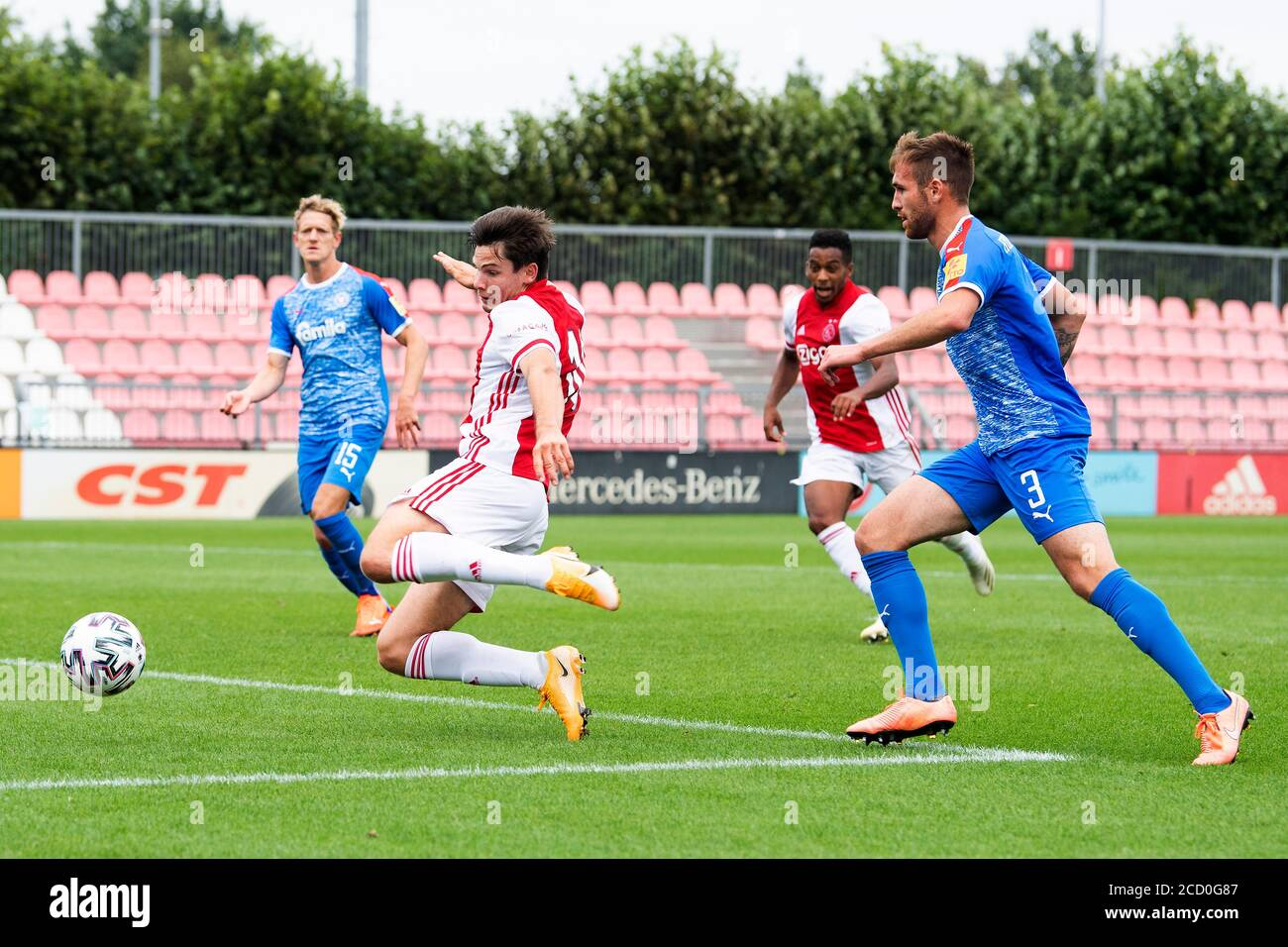 Amsterdam Netherlands 25th Aug 2020 Amsterdam 25 08 2020 Sportpark De Toekomst Football Friendly Testmatch Season