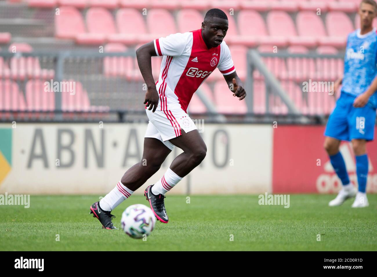 Amsterdam 25 08 2020 Sportpark De Toekomst Football Friendly Testmatch Season 2020 2021 Ajax Holstein Kiel Ajax Player Brian Brobbey Stock Photo Alamy