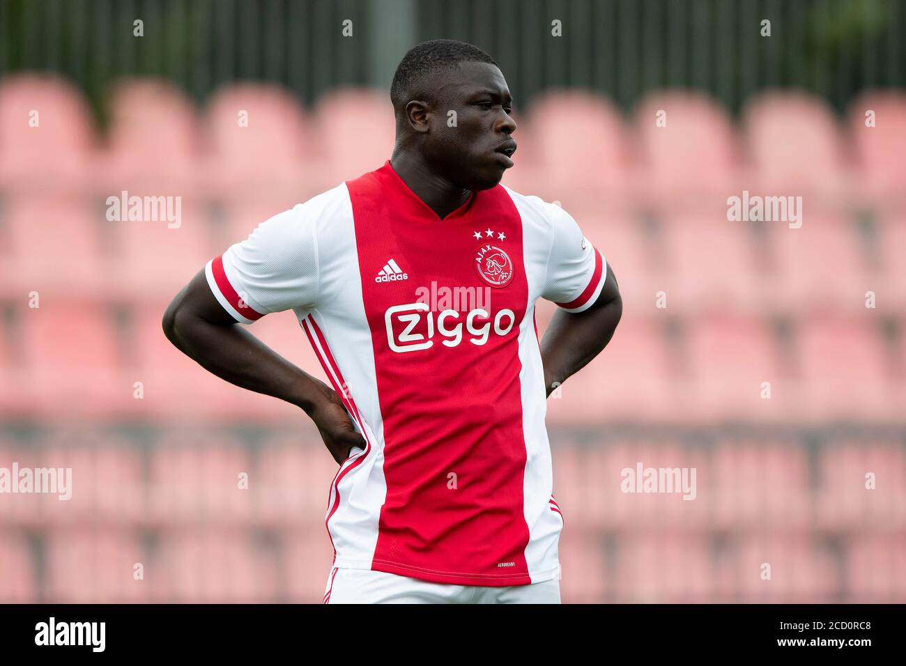 Amsterdam Netherlands 25th Aug 2020 Amsterdam 25 08 2020 Sportpark De Toekomst Football Friendly Testmatch Season 2020 2021 Ajax Holstein Kiel Ajax Player Brian Brobbey Credit Pro Shots Alamy Live News Stock Photo Alamy