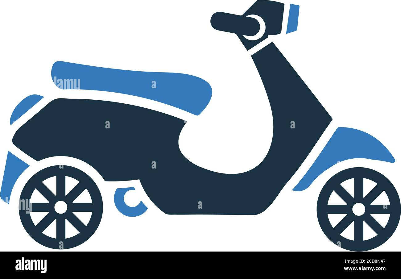 Bike Vespa Scooter Icon Well Organized And Editable Vector Design Using In Commercial Purposes Print Media Web Or Any Type Of Design Projects Stock Vector Image Art Alamy